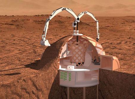 CONSTRUIRE SUR MARS