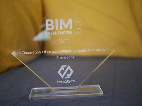 SXD élu BIM Influenceur 2019
