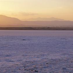 Salt Flats in Cyprus