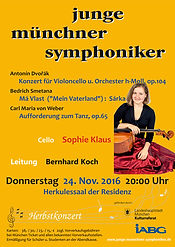 Sophie Klaus Cello Junge Münchner Symphoniker