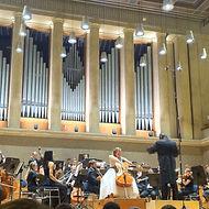 Cellistin Sophie Klaus Dvorak Cello Konzert Herkulessaal