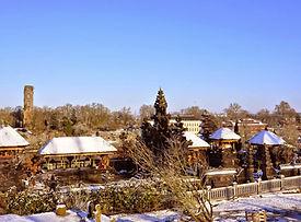 Pura-Agung-Santi-Bhuwana-Belgium-winter.