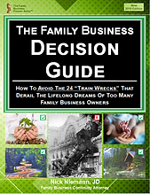 Family Business Decision Guide Front Pag