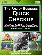 Family Business Quick Checkup Front Page