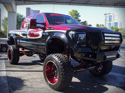 12 F250 King Ranch SEMA Truck custom coilover susp
