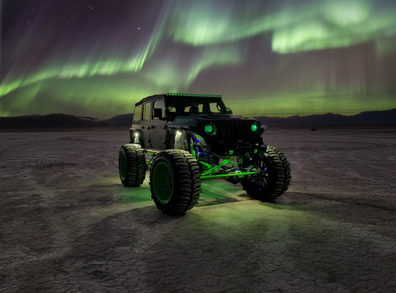 Jeep JL SEMA Build