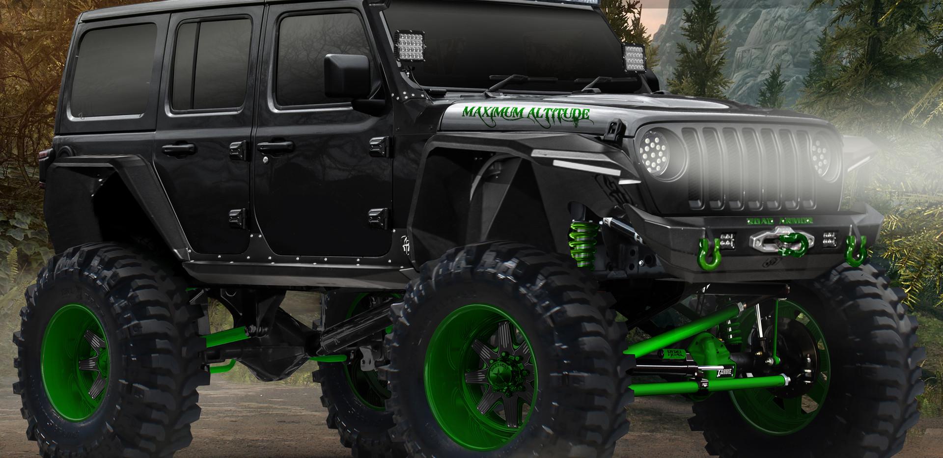 Jeep JL Rendering