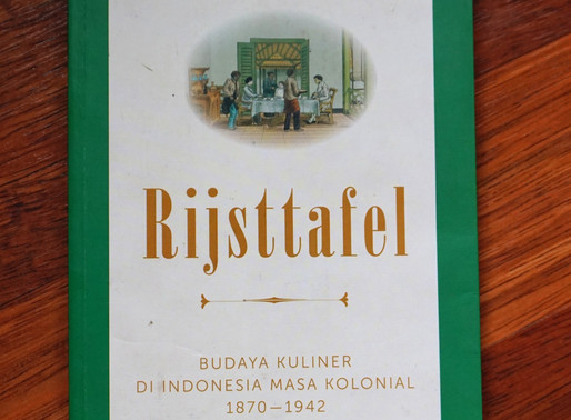 Rijsttafel,Buku Tentang Budaya Makan Kolonial
