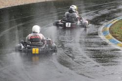Kartclubrennen im Regen (F)