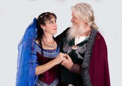 King Aluz and Queen Leanara