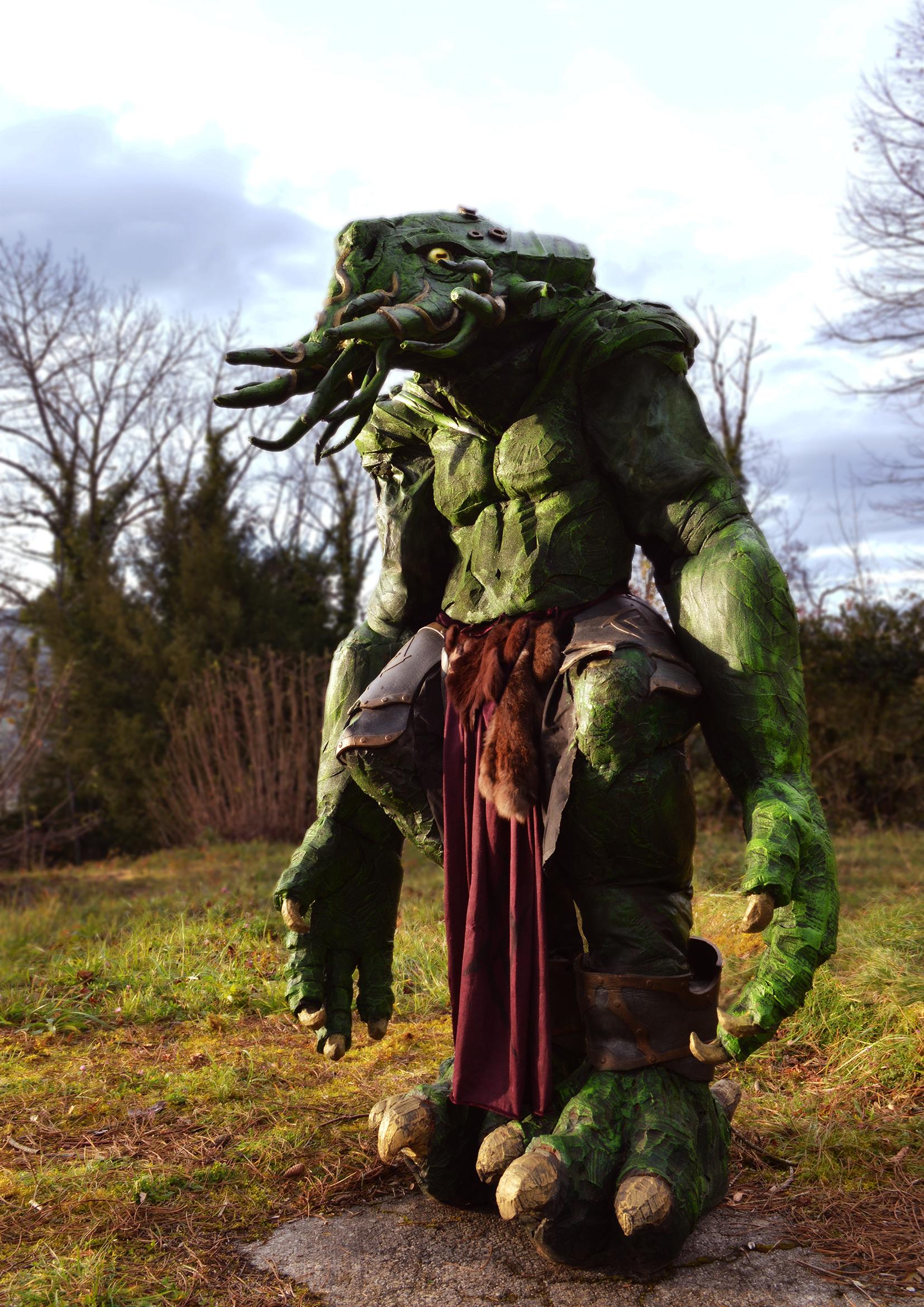 Arme costume monstre GN