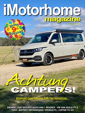 The Latest iMotorhome Magazine is out!