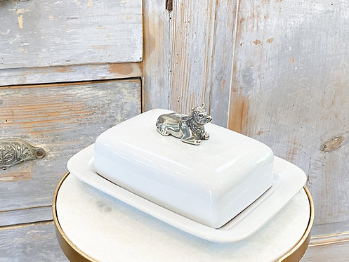 Butter Dish - Mabel the Cow