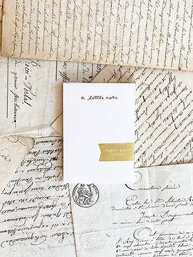 """Mini Notepad """"A Little Note"""""""