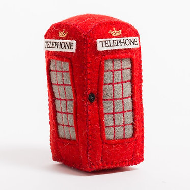 Ornament - London Phone Booth
