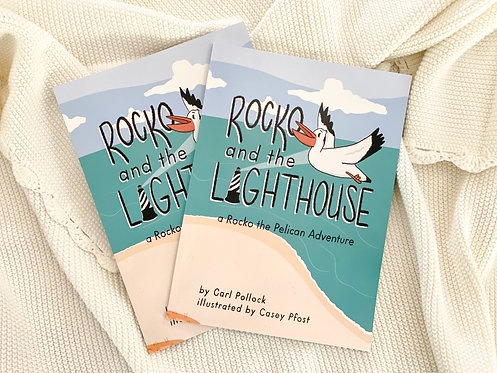 Rocko and the Lighthouse - Local Author & Illustrations Children's Book
