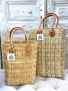 French Market Wine Tote - Small & Large