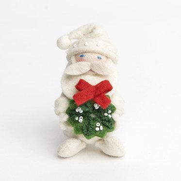 Ornament - Winter White HoHo Santa