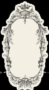 Table Accent - Flourish Frame