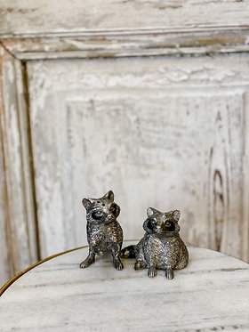 Salt & Pepper Set - Raccoons