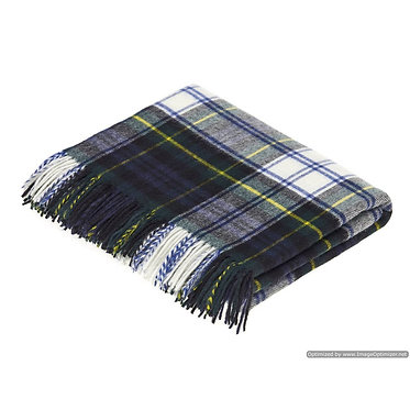 Throw - Merino Lambswool - Dress Gordon Tartan