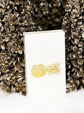 Matchbox - Pineapple on White