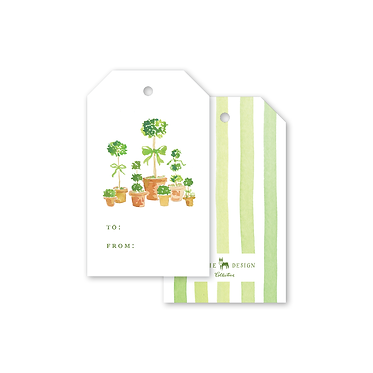 Gift Tags - French Topiary
