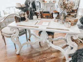French Carved Table