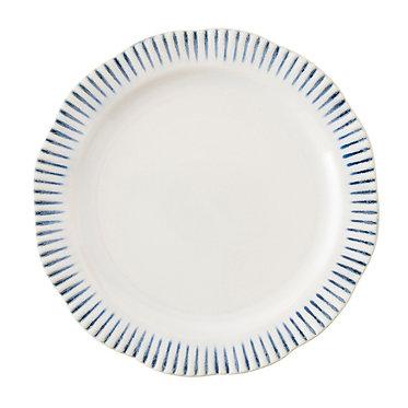 Sitio Stripe Indigo Plate