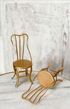 Vintage Gold Chairs