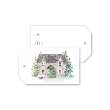 Gift Tags - Scottish Countryside