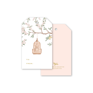 Gift Tags - Chinoiserie Garden