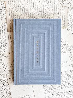 """Notebook """"Details"""" - Dot Grid"""