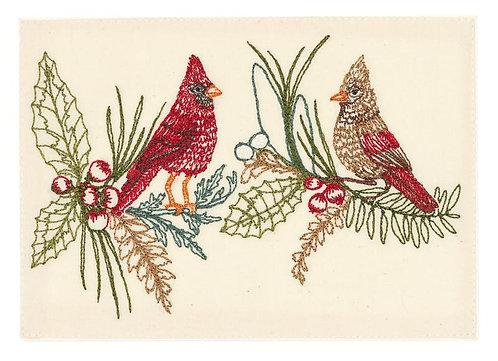 Card - Christmas Cardinals