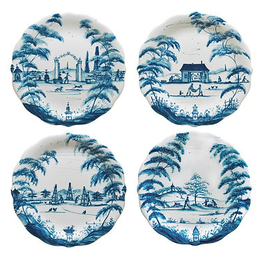 Country Estate Delft - Party Plates
