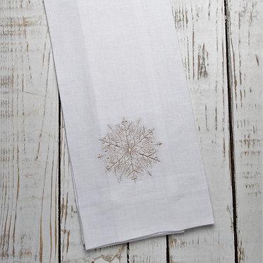 Tea Towel - Snowflake