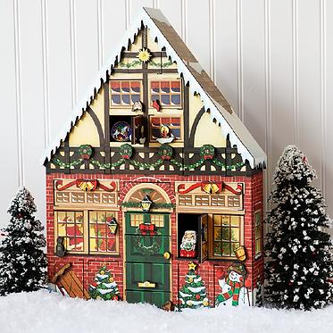 Advent Calendar - Christmas House
