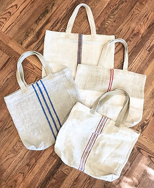 Antique Linen/Hemp Tote