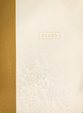 """Project Planner - Pearl Flower """"Plans"""""""