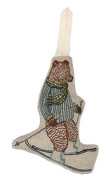 Ornament - Downhill Bear