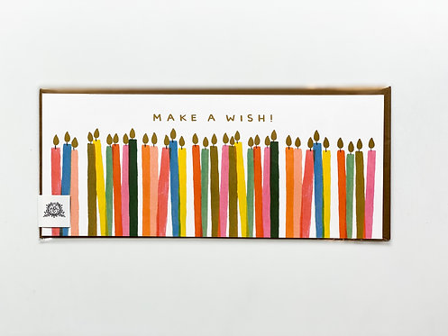 Happy Birthday - Make a Wish Candles