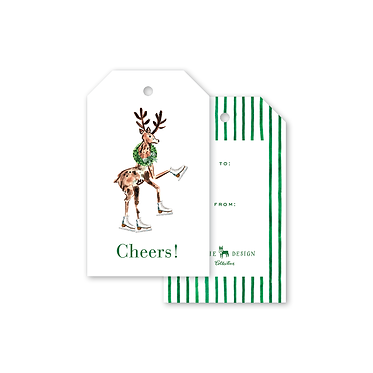 Gift Tags - Charleston Citrus Reindeer