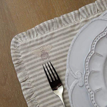 Placemat - Bumble Bee Stripe