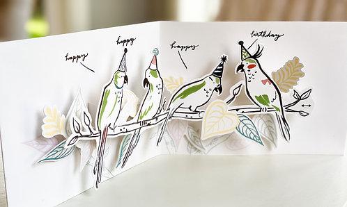 Tropical Parakeets