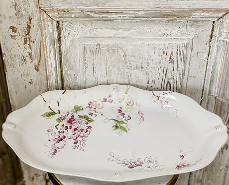 Berry & Thread Wisteria - Platter