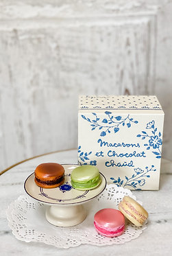 Macarons et Chacolat Chaud