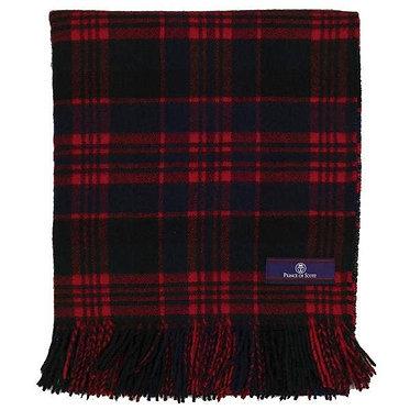 Highland Tartan Tweed Merino Wool Throw - Macdonald
