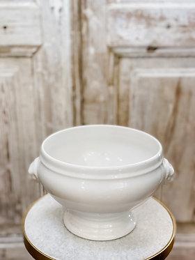 Vintage Lion Bowl from France - Large