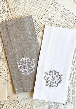 Tea Towel - Damask