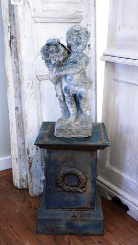 Antique Boy Statue